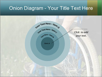 Close up of a man in a wheelchair PowerPoint Templates - Slide 61