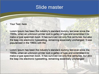 Horse Drawn Carriage parking PowerPoint Templates - Slide 2