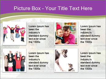 Large and small dogs PowerPoint Templates - Slide 14