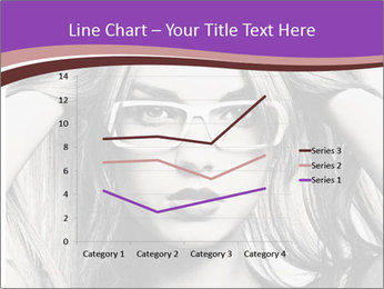 Portrait of beautiful blond woman PowerPoint Template - Slide 54