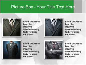 Man's hands PowerPoint Template - Slide 14