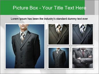 Man's hands PowerPoint Template - Slide 19