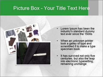 Man's hands PowerPoint Template - Slide 20