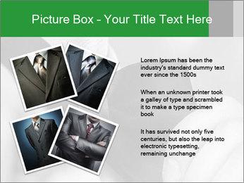 Man's hands PowerPoint Template - Slide 23