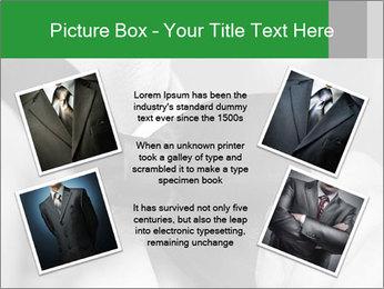 Man's hands PowerPoint Template - Slide 24