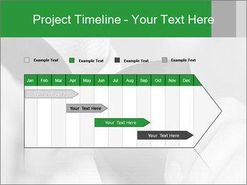 Man's hands PowerPoint Template - Slide 25