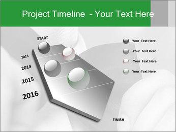 Man's hands PowerPoint Template - Slide 26
