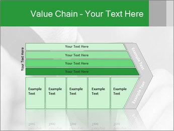 Man's hands PowerPoint Template - Slide 27