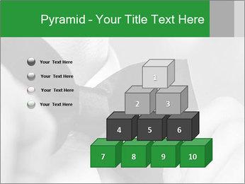 Man's hands PowerPoint Template - Slide 31