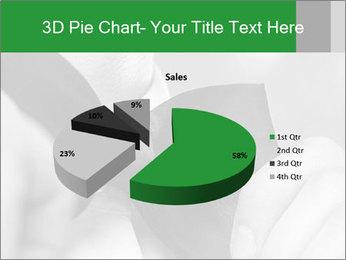 Man's hands PowerPoint Template - Slide 35