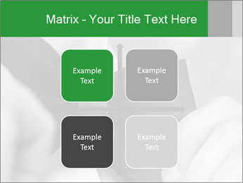 Man's hands PowerPoint Template - Slide 37