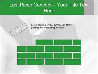 Man's hands PowerPoint Template - Slide 46