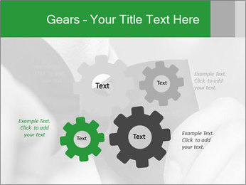Man's hands PowerPoint Templates - Slide 47
