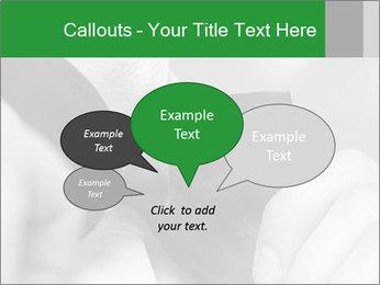 Man's hands PowerPoint Template - Slide 73
