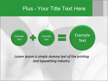 Man's hands PowerPoint Template - Slide 75