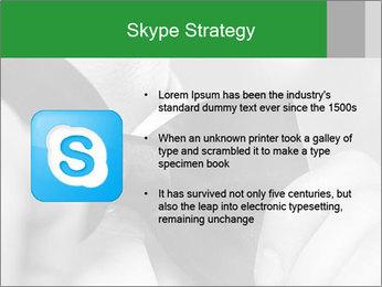Man's hands PowerPoint Template - Slide 8
