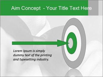 Man's hands PowerPoint Template - Slide 83