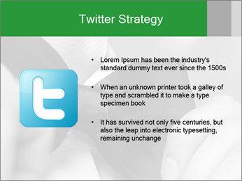 Man's hands PowerPoint Template - Slide 9