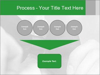 Man's hands PowerPoint Template - Slide 93