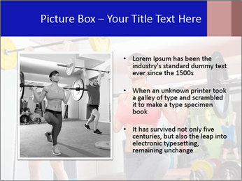 Crossfit fitness gym PowerPoint Templates - Slide 13