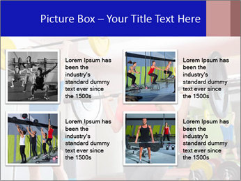 Crossfit fitness gym PowerPoint Templates - Slide 14