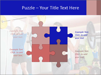 Crossfit fitness gym PowerPoint Templates - Slide 43