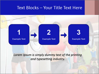 Crossfit fitness gym PowerPoint Templates - Slide 71