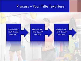 Crossfit fitness gym PowerPoint Templates - Slide 88