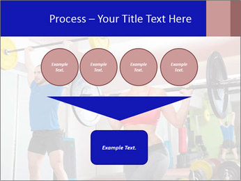 Crossfit fitness gym PowerPoint Templates - Slide 93