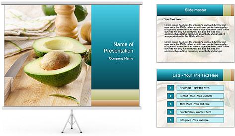Avocado PowerPoint Template