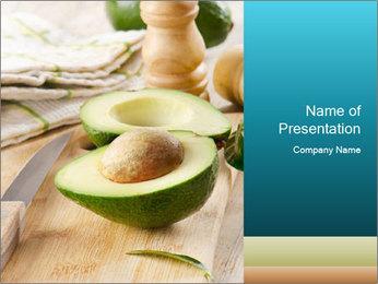 Avocado PowerPoint Template - Slide 1