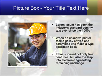 Industrial engineer writing PowerPoint Template - Slide 13