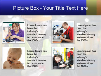Industrial engineer writing PowerPoint Template - Slide 14