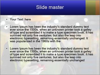 Industrial engineer writing PowerPoint Template - Slide 2