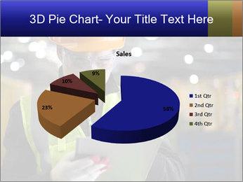 Industrial engineer writing PowerPoint Template - Slide 35