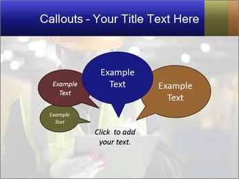 Industrial engineer writing PowerPoint Template - Slide 73