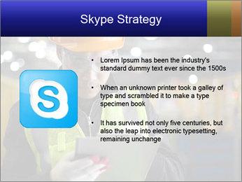 Industrial engineer writing PowerPoint Template - Slide 8