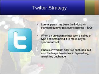 Industrial engineer writing PowerPoint Template - Slide 9