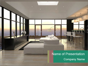 Modern Loft PowerPoint Template - Slide 1