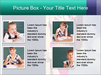 Redhead student PowerPoint Templates - Slide 14