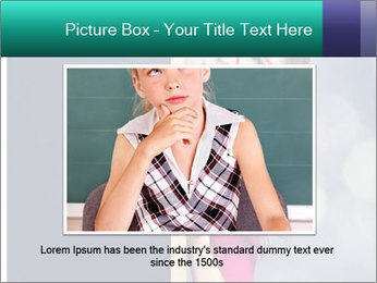 Redhead student PowerPoint Templates - Slide 15