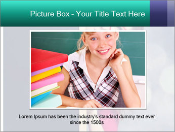 Redhead student PowerPoint Templates - Slide 16