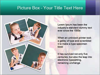 Redhead student PowerPoint Templates - Slide 23