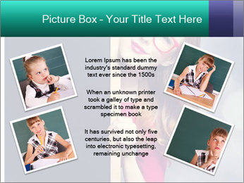 Redhead student PowerPoint Templates - Slide 24