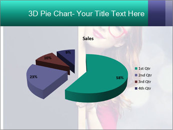 Redhead student PowerPoint Templates - Slide 35