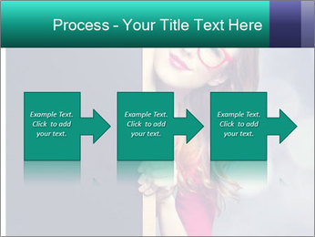 Redhead student PowerPoint Templates - Slide 88
