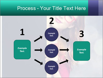 Redhead student PowerPoint Templates - Slide 92
