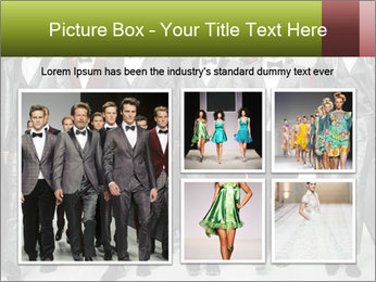 Male model PowerPoint Templates - Slide 19
