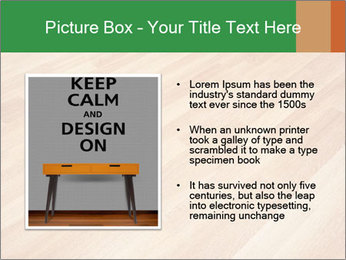 New oak parquet PowerPoint Template - Slide 13