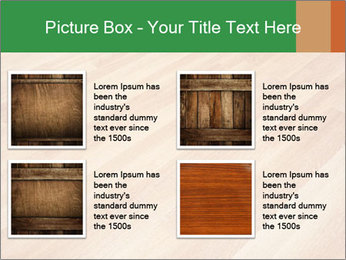 New oak parquet PowerPoint Template - Slide 14